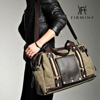 Male bags male shoulder bag casual canvas bag big capacity handbag messenger bag