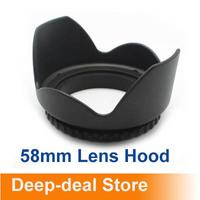 58mm Flower Camera Hood Petal for Canon EOS 18-55 lens 58mm Hood