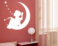 free shipping Three-dimensional crystal mirror wall stickers child real acrylic wall stickers