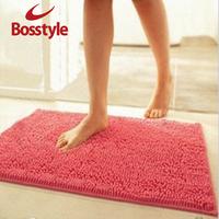 Chenille mats doormat carpet bath mat waste-absorbing slip-resistant pad