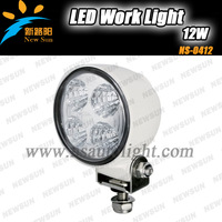 Free shipping Super Bright 12V/24V 12W Waterproof Led Work Light/ Work lamp Led fog light for SUV, Truck, Offroad