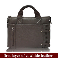 handbag men genuine leather,luxury fashion 2013 business briefcase leather bags,designer totes bag,3057