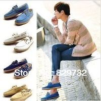 Free shipping 2013 new Spring and summer canvas shoes male fashion shoes the trend of casual shoes fashion ship shoes