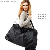 Wood pig large capacity nylon waterproof bag big travel bag clothes big bag luggage
