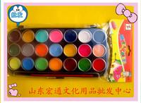 21 doodle water color painting gouache painting set palette painting materials pigment box pen