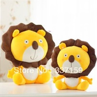 Free shipping 40cm sunflower cartoon lion doll, plush toys, the lion king leo, small lion doll, stuffed toys, gift for boy