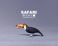 Safari animal model - toucan hornbill