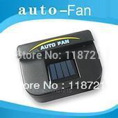 Hot! Post air free shipping! Solar Power Car Auto Cool Air Vent With Rubber Stripping Car Ventilation Fan(China (Mainland))