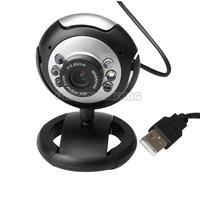 UN2F Fashionable 8.0 Mega 30 M USB 6 LED Webcam Web Cam Camera Laptop Computer With Mic New
