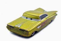 Free shipping Origianl Pixar Cars 2  Gold Radiator Springs Classics Diecast figure toy gift loose
