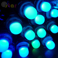50pcs 12mm IP65 Waterproof WS2811 RGB LED Pixel Modules with WS2811 2811 IC Fast Shipping