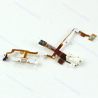 Headphone Earphone Jack Power Key Mute Volume Switch Flex Cable For iPhone 3GS W
