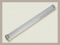 High Power 15W  419mm 2G11 72smd LED Tube Light SMD 2835 SMD Led U Lamp Pure White AC85-265v