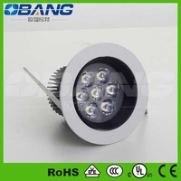 Hot Sale High Power 7W Led Downlight ,Free Shipping,7W Led downlights with CE EMC RoHS,700LM Led  lamp