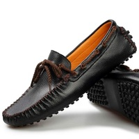 2013 summer men's breathable casual shoes fashion shoes sailing shoes genuine leather loafers gommini sneakers for men