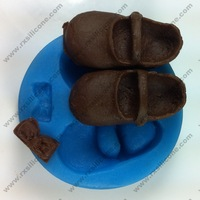 free shipping Shoes Chocolate mold Cake mold cooky mold liquid silicone rubber
