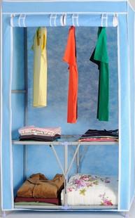 Kelakunlun folding wardrobe 99556 simple wardrobe 95 45 156cm