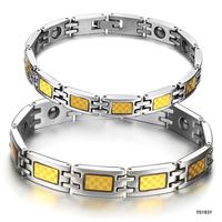 Free Shipping Simple Style Opk popular accessories Titanium Steel jewelry anti fatigue bracelet n1037