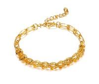OPK JEWELLERY fashion jewelry, twist 18k yellow gold filled bracelet,18k bangle 18k bracelet bangle ,gold bracelet New Arrivel