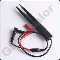 free shipping SMD Test Meter Probe multimeter Tweezer capacitor