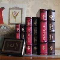 Books box fashion book decoration vintage props