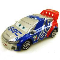 Free shipping Pixar Cars 2 RAOUL CAROULE #9 Metallic Finish Metal Diecast toy loose