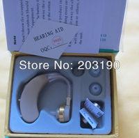 2013 hot sale hearing aid device  BTE hearing aid heaing Sound Amplifier soft 2 ear plug free shipping