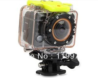 2013 Newest Sport Diving DVR Camcorder w/RF Re Black ,Full HD 1080p+170 Degree Wide Angle+Mote Controller, Wi-Fi,Waterproof 30m