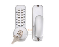 KL-371 CODE + KEY, mechanical code lock, door lock with push button,no need power supply