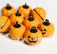 Free shipping!20Pcs Halloween Pumpkin Cartoon Brass Beads 18*19mm