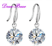 S925 Sterling Big 10mm CZ Drop Earring Jewellery