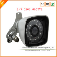 promotional 1/3 SONY SUPER HAD CCD 600TVL hd 720p 24pcs IR LED waterproof cp plus cctv camera