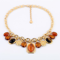 New Style 2013 Fashion Jewelry Opal Drop Pendant Necklace