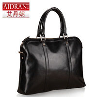 New 2013 fashion business bags briefcase laptop shoulder bag of women cowhide work women brand genuine leather handbag totes