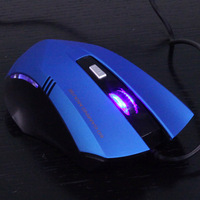 Mx2700 usb wired laptop mouse 6 key 4 variable speed game mouse