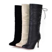 Туфли на высоком каблуке New Fashion Style Lady's Dress Shoes, High Heels Shoes, 2 Colors, Size:34-39 6170-3NBLLXZ