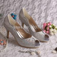 Туфли на высоком каблуке Magic Bride Royal Blue , 8 Drop MQW-152