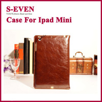 Soft Skin Leather case for iPad Mini 7.9 inch  Stand Smart cover  High Quality Free Shipping