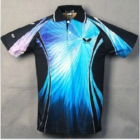 free shipping !2013 New butterfly Men Sportswear Drying Badminton / Table Tennis clothes Polo Shirts