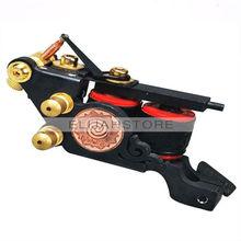 Cheap New Little Cyclones Kit Tattoo Machine Gun 10 Wraps bobinas 8049 tatuagem fornecedor(China (Mainland))