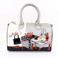 Trend 2012 women's handbag braccialini cartoon veneer women's handmade handbag fashion women's handbag bag