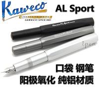 Kaweco al aluminum alloy portable sport pocket fountain pen