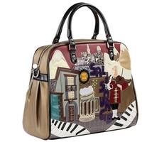 Wholesale 2012 women's handbag braccialini fashion one shoulder handbag women's handbag handmade women's handbag  free shipping