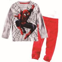 6sets/lot (1design x 6 sizes), Baby clothes, Children Pajamas, boys Sleepwear