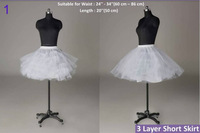12 Styles Bridal Petticoat White Wedding Dress Crinoline/Slips/Underskirt  2013