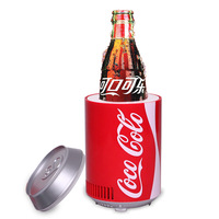 Cola bucket usb refrigerator mini refrigerator usb refrigerator usb small household refrigerator gift  free