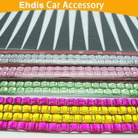 CE002 auto headlight eyelashes with crystal car decal 3d car headlight eyelashes car sticker car eyelashes with diamond