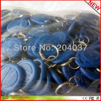 Hot Sale 100PCS/Lot Proximity  LF 125Khz  EM ID RFID  Cards / KeyTags / Keyfobs  with EM4100 TK4100 Chip For Access Control
