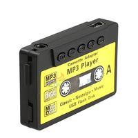 LY4# Mini MP3 Player TF USB Flash Disk Cassette Speaker Black E0Xc