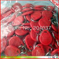 100PCS/Lot Proximity  LF 125Khz  EM ID RFID keychain Card / KeyTag / Keyfob  with EM4100 /TK4100 Chip For Access Control System